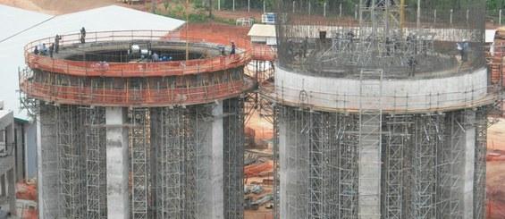 Fábrica de cimento, Xambioa, Brasil