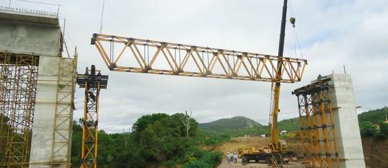 FIOL Ferrovia de Integração Oeste Leste, Bahia, Brasil