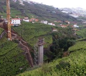 Via rapida da Camara de Lobos, Ilha da Madeira, Portugal