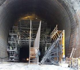 Reforço da barragem da caniçada, Gerês, Portugal