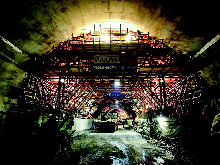 Carros MK para túneis