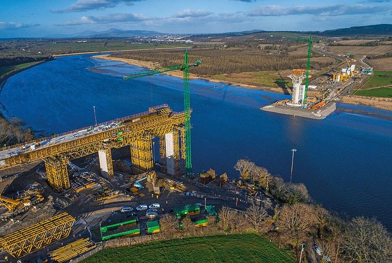 New Ross, a mais longa ponte extradorsal do mundo